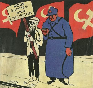 French anti stalinist cartoon 1938