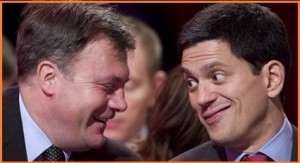 Ed+Balls+talking+to+David+Miliband