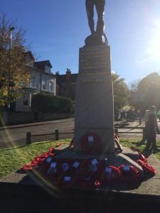 The Redhill War Memorial